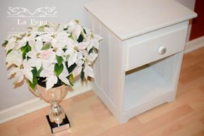 Upcycled furniture, DIY poject