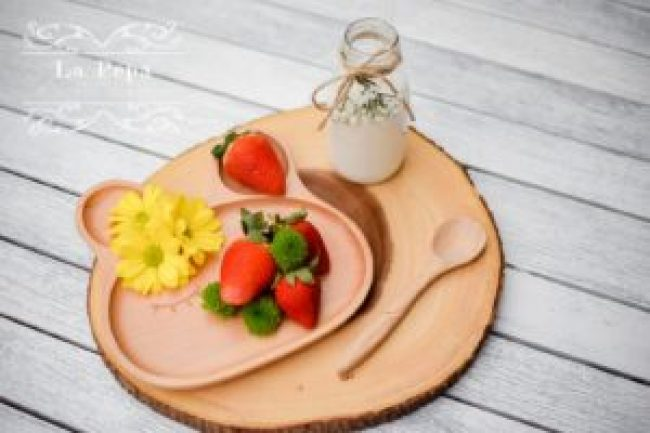 ECO Kids | Wooden Bunny Plate 13