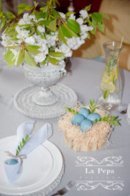 Eco Easter | Table Styling and Decor ideas 1