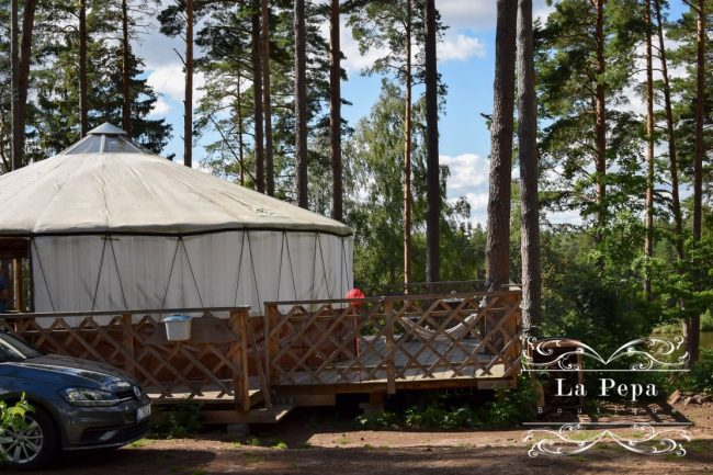 Green Travellers | Yurts Village in Lithuania