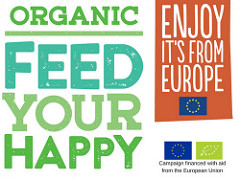 Organic. Feed Your Happy with Green Smoothie