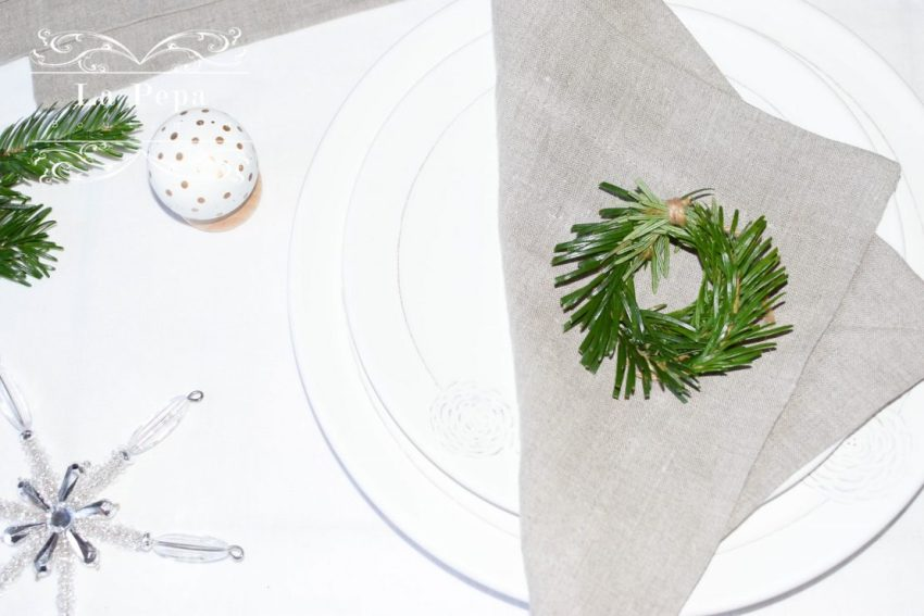 Eco Christmas | A Luxurious yet Natural Look with Table Linen 9