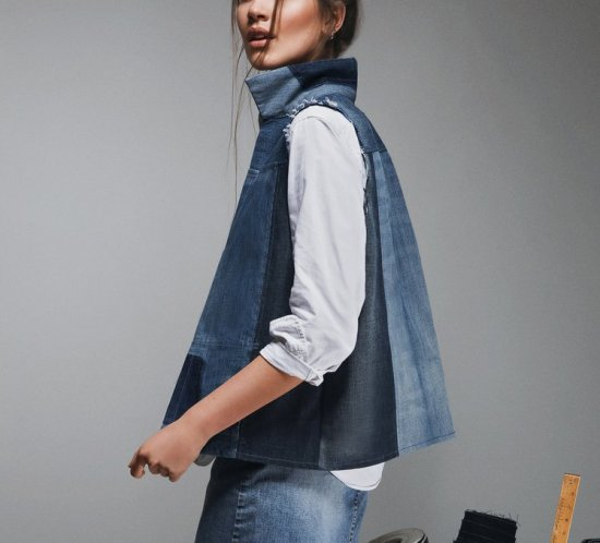 Eco Chat   Yours Again Upcycled Denim Fashion
