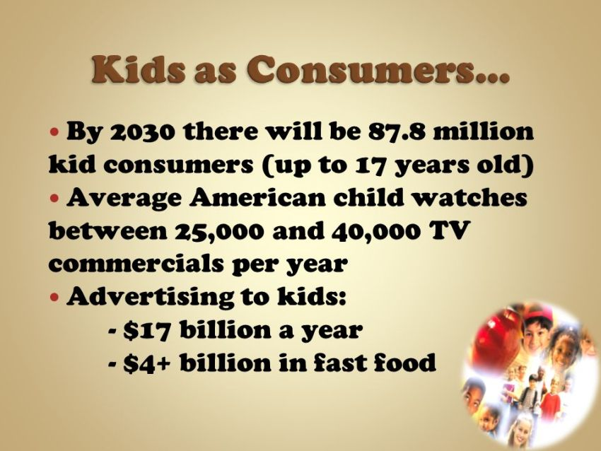 Commercialised Childhood Part 1   Children as Consumers 3
