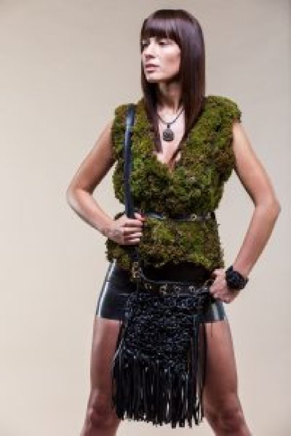 Eco Chat | Designer Matilda creates Eco Luxury Fashion TildArt