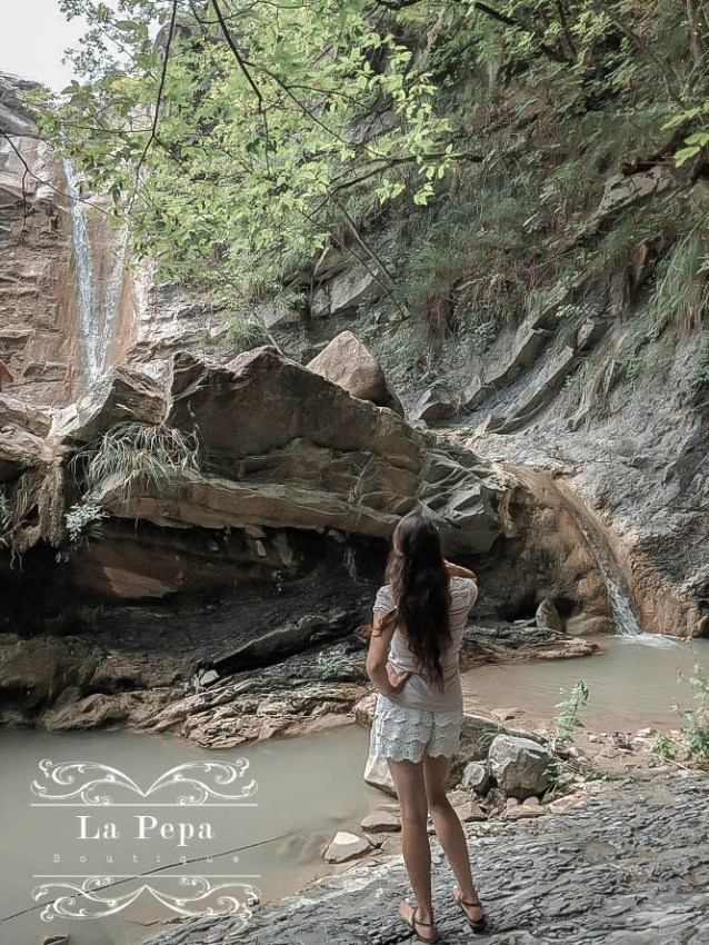 Green Travellers | Wild Walks by Carlone Thermal Waterfall in Italy 17