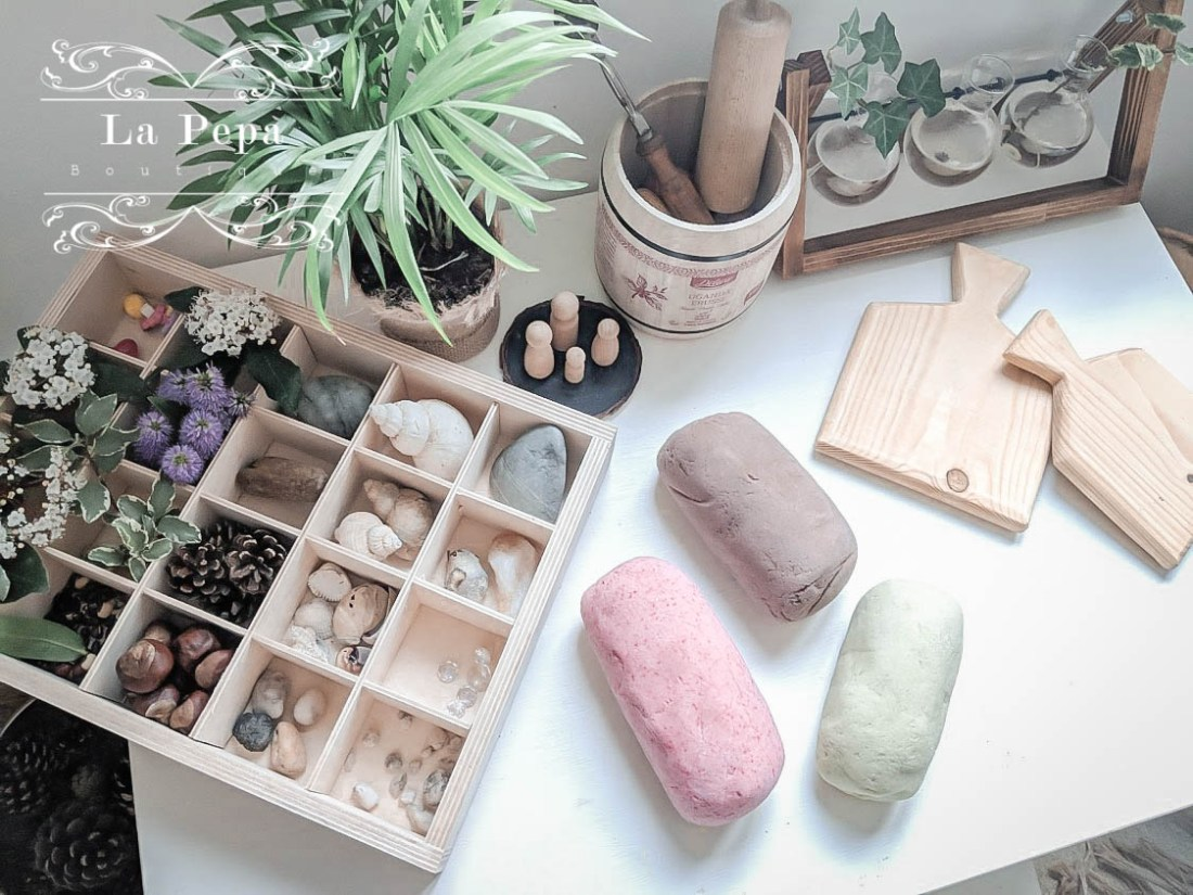 Green Parenting | A Simple, Natural and Plastic-free Playdough Recipe