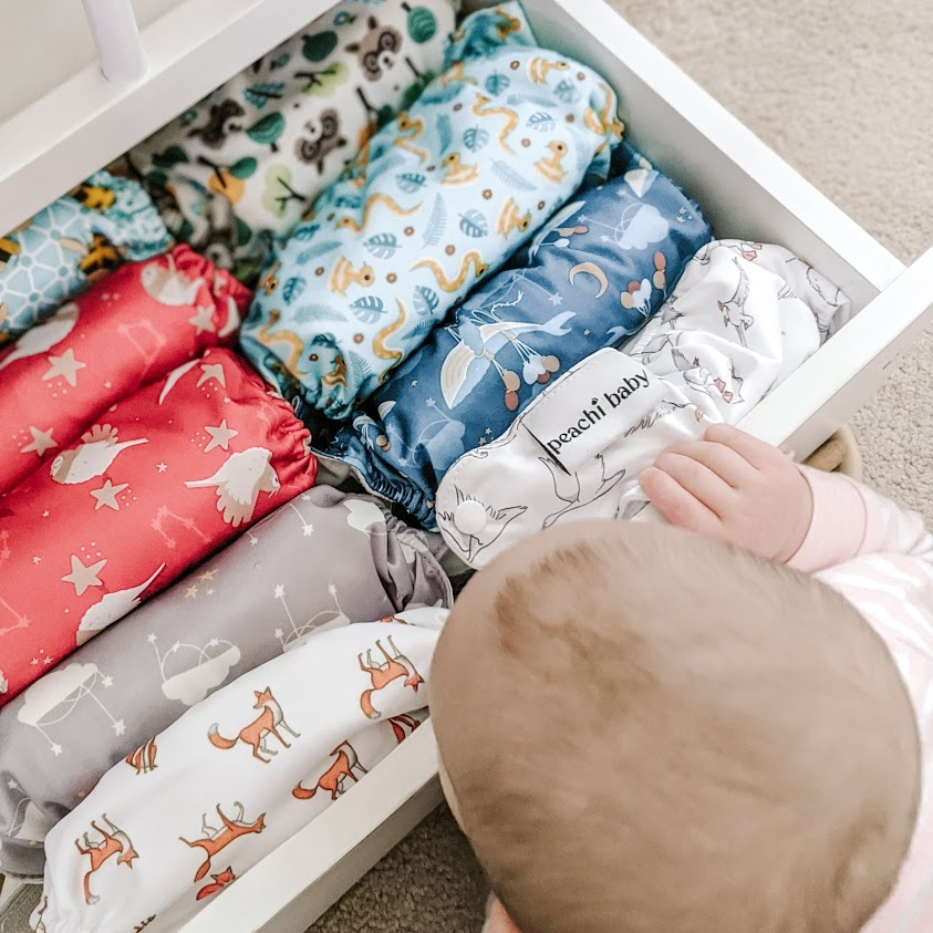 Eco Baby   Why Reusable Nappies and how to Choose?