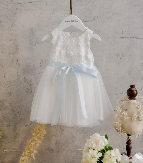 la petite Citron Flower Girl Dress 檬果澎澎裙 花童禮服 寶寶禮服 Zoe-03-1