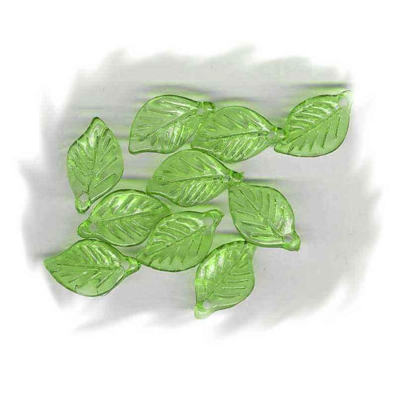 perle feuille verte