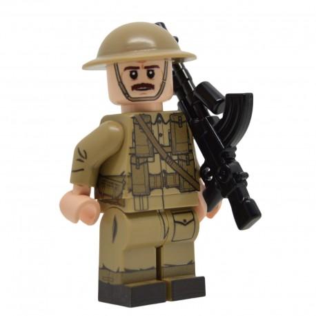 United Bricks WW2 British Tank Commander LEGO Minifigure Military