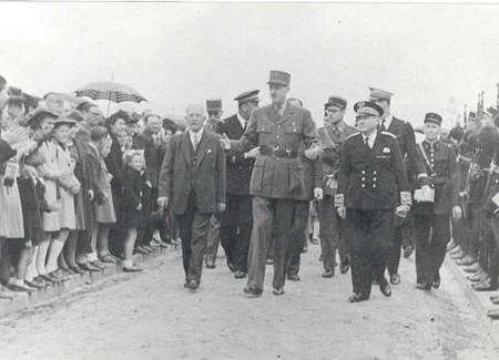 Genéral de Gaulle is coming back in Isigny sur mer