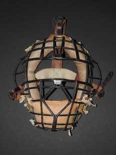 Baseball, masque receveur willson