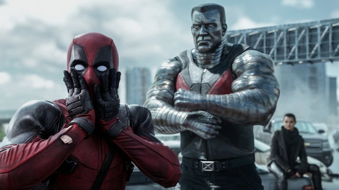 Photo extraite du film DEADPOOL. Source : www.npr.org