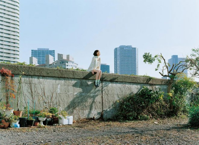 Photo extraite du film Air Doll réalisé par Hirokazu Kore-eda. Source : www.telerama.fr