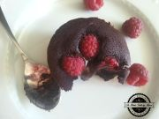 Mekani cokoladni kolacici sa malinama i Nutellom