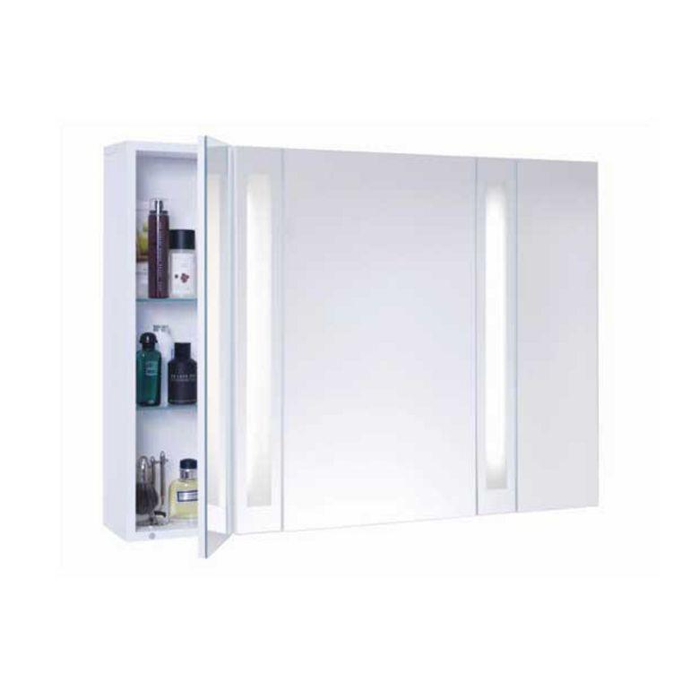 Armoire 3 Portes Avec Miroir