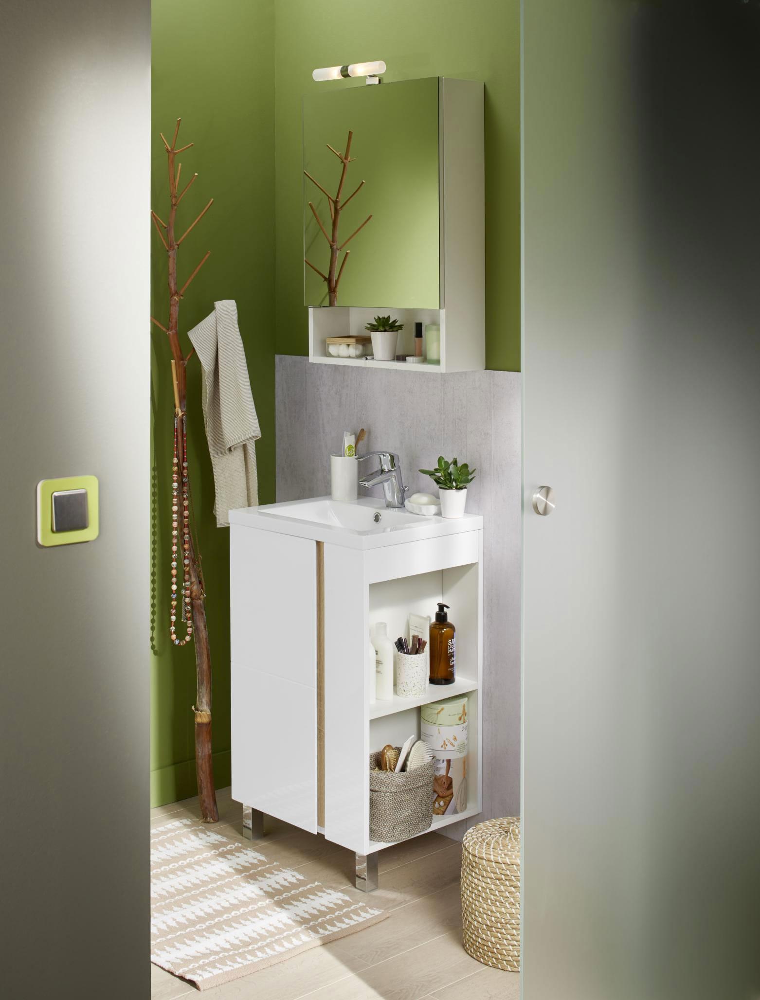 Amnagement petite salle de bains  Lapeyre