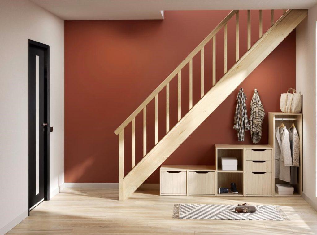 amenager un espace sous escalier