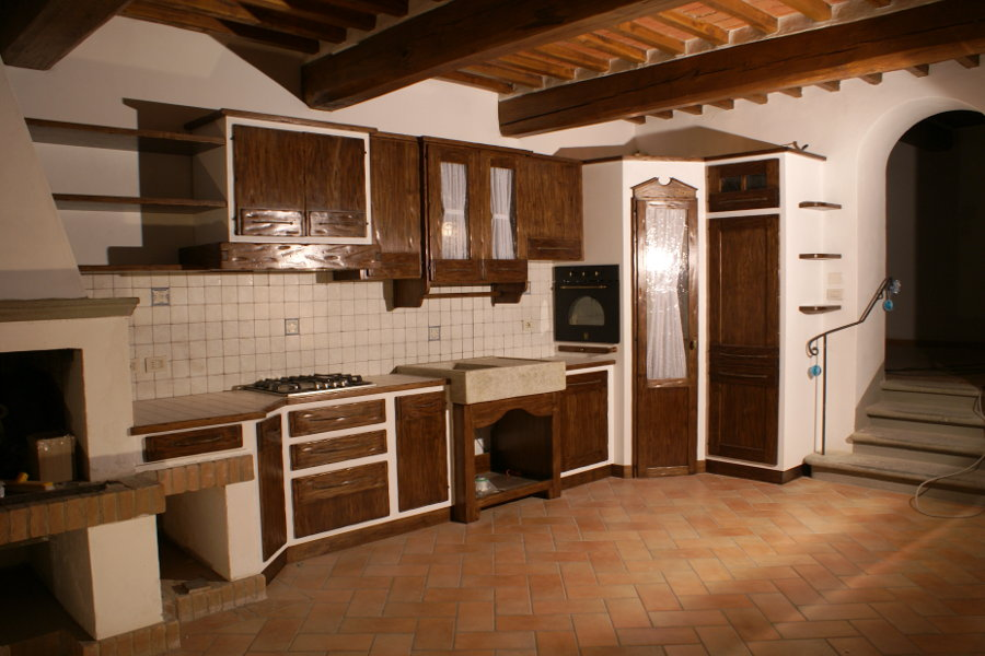 Cucine in Finta Muratura  Mobili su misura a Firenze