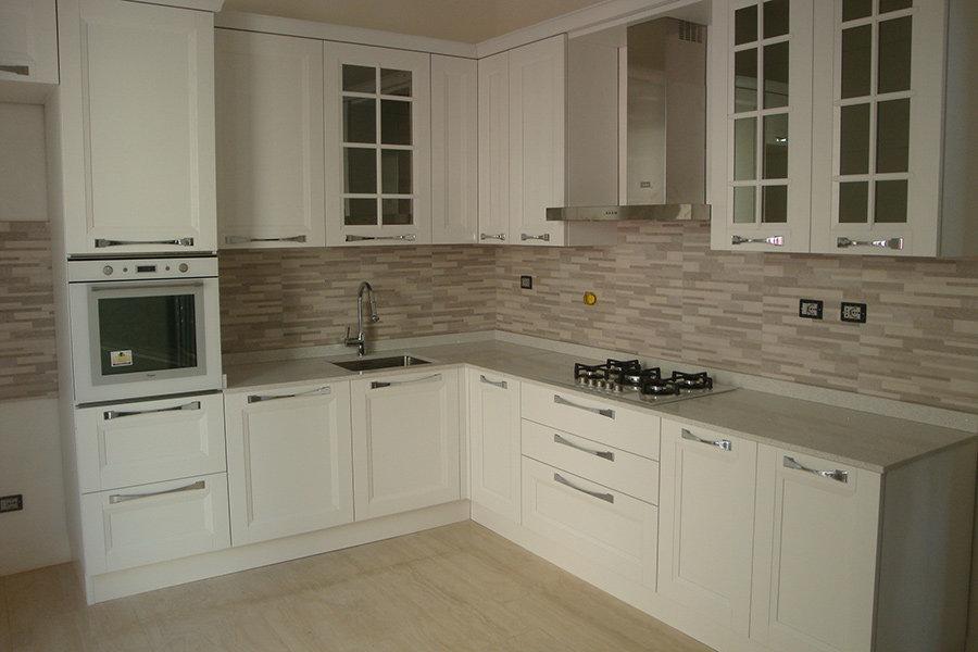 Cucina moderna angolare ARCUC001  Mobili su misura a