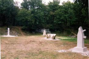 La Préfiguration - Le site des Lapidiales encore bien vide