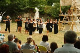 18-07-2015 la danse offerte au public