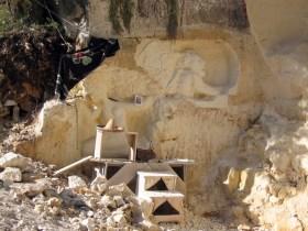 Le chantier de Louis- Romain Bard et 'le gardien du site' d'Alain Tenenbaum