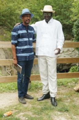 Karfa Diallo et Babacar Niang