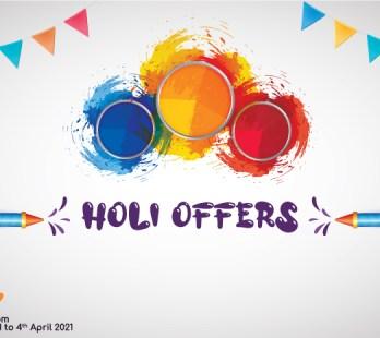 Holi Offers 2021