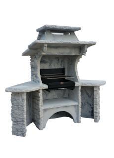 barbecue fixe d exterieur en pierre