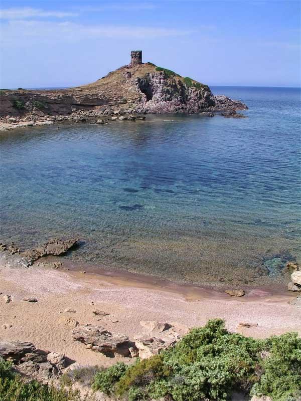 BB La Pinnetta spiaggia della Columbargia a Tresnuraghes vicino a Bosa in Sardegna