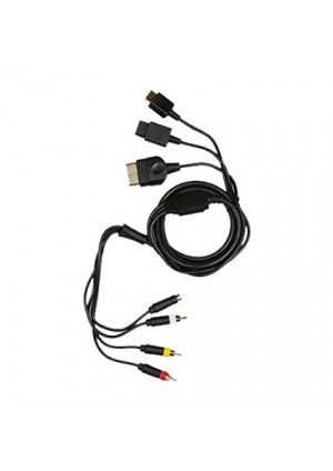 Cable AV Universel / PS1,PS2, PS3, SNES, N64, GameCube, Xbox