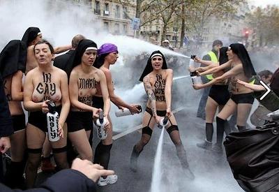 l'extrémisme version Femen, ou l'hopital qui se fout de la charité