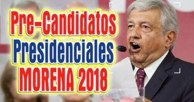 Candidatos Morena 2018