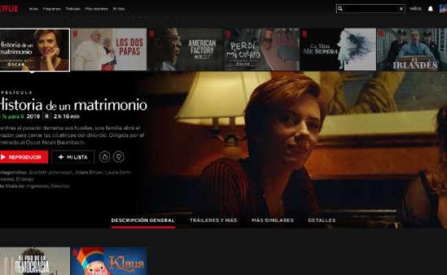 Las 8 Películas Originales De Netflix Nominadas Al Oscar 2020
