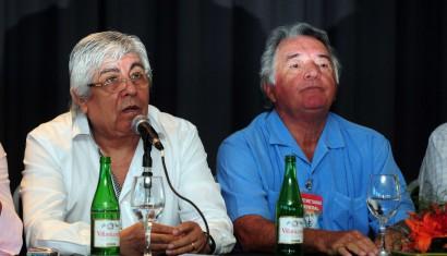 Barrionuevo y Moyano unificaron sus centrales y macaron límites a Scioli y Massa