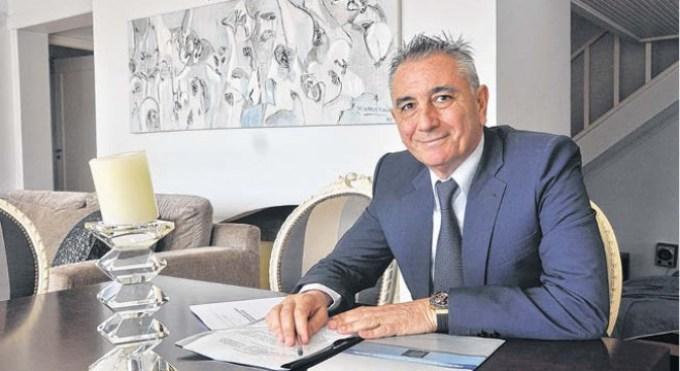El empresario Gustavo Elías
