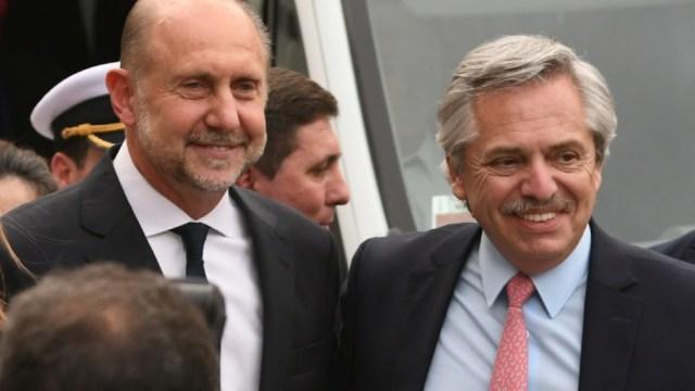 Alberto anunció que le entregará la Hidrovía a las provincias costeras