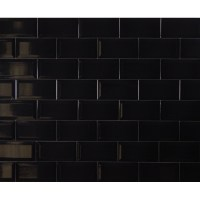 Metro Tiles Black | Tile Design Ideas