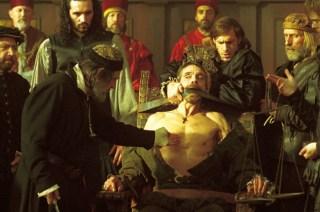 """Fotogramma tratto da """"The Merchant of Venice"""", del 2004 (regia di Michael Radford)"""