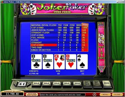オンラインカジノのビデオポーカーってどんなゲーム?