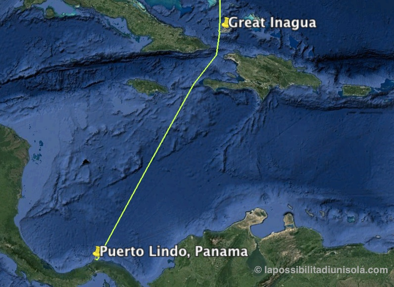 Sailing to Panama: enduring tropical waves in the Caribbean Sea