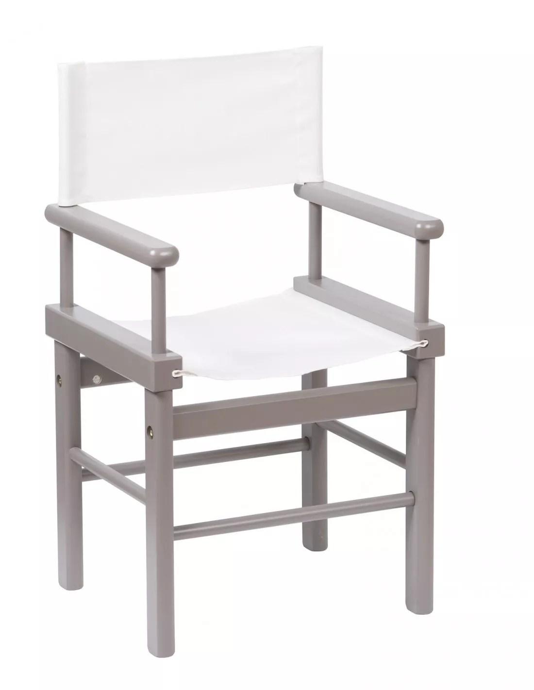 fauteuil metteur en scene gris moulin roty