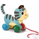 Chat à promener Jouet à tirer pour enfant 1 an