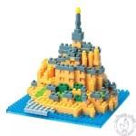 Nanoblock Mont Saint Michel mini jeu de construction