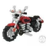 Nanoblock moto mini jeu de construction