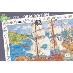 Puzzle d'observation Les pirates Djeco