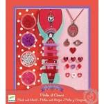 Bijoux à créer perles et coeurs - Djeco