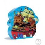 Puzzle bateau de pirate barberousse - Djeco